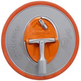Ponceuse radius 360 avec adaptateur pour manche