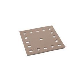 10 recharches abrasif grain 180 cale plate ERGOLISS
