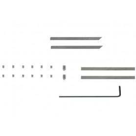Kit de lames pour finisseur d'angle de 50 mm