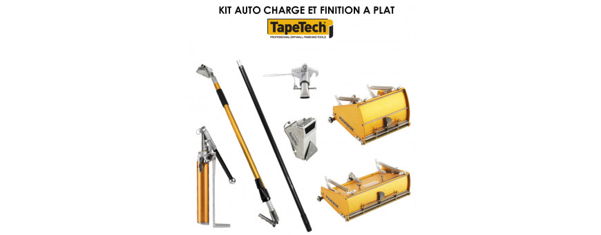 KIT CHARGE ET FINITION A PLAT TAPETECH