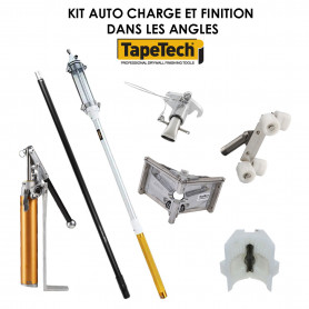 Kit charge et finition automatique angle TAPETECH